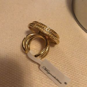 Gold magnabilities ring